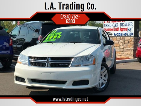 2011 Dodge Avenger for sale at L.A. Trading Co. in Woodhaven MI