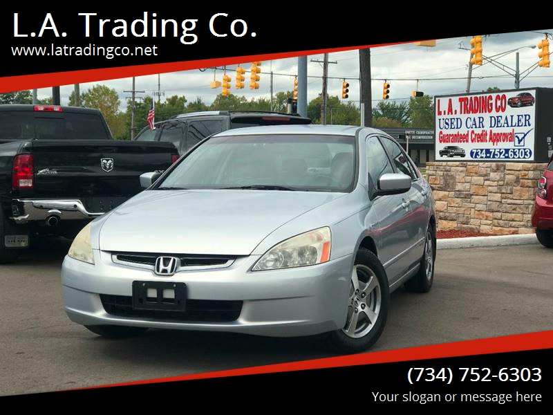 2005 Honda Accord For Sale At L.A. Trading Co. In Woodhaven MI