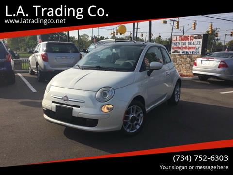 2012 FIAT 500 for sale at L.A. Trading Co. in Woodhaven MI