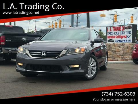 2013 Honda Accord for sale at L.A. Trading Co. in Woodhaven MI