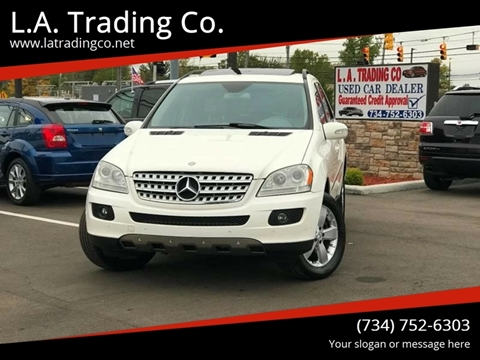 2006 Mercedes-Benz M-Class for sale at L.A. Trading Co. in Woodhaven MI