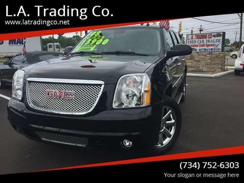 2008 GMC Yukon for sale at L.A. Trading Co. in Woodhaven MI