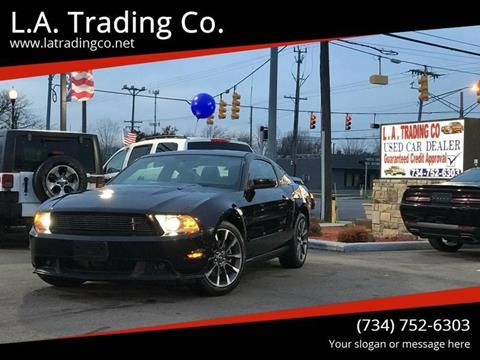 2011 Ford Mustang for sale at L.A. Trading Co. in Woodhaven MI