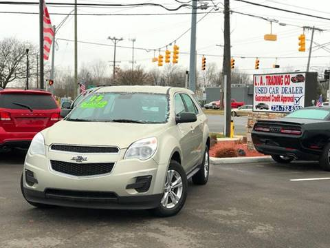 2015 Chevrolet Equinox for sale at L.A. Trading Co. in Woodhaven MI