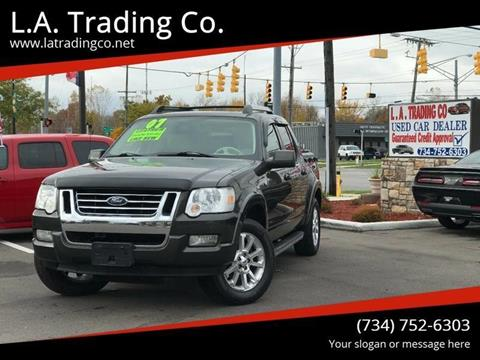 2007 Ford Explorer Sport Trac for sale at L.A. Trading Co. in Woodhaven MI