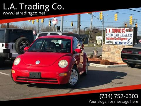 2002 Volkswagen New Beetle for sale at L.A. Trading Co. in Woodhaven MI
