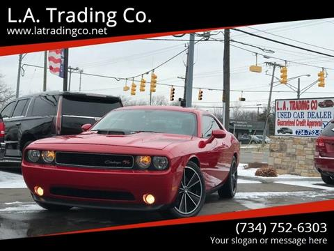 2012 Dodge Challenger for sale at L.A. Trading Co. in Woodhaven MI