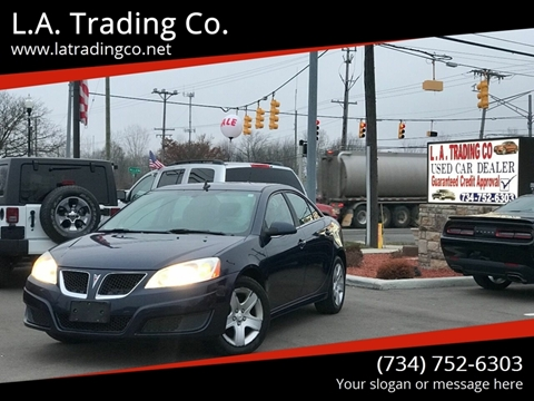 2010 Pontiac G6 for sale at L.A. Trading Co. in Woodhaven MI