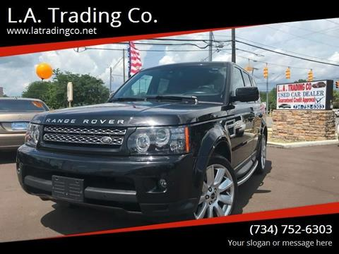 2013 Land Rover Range Rover Sport for sale at L.A. Trading Co. in Woodhaven MI