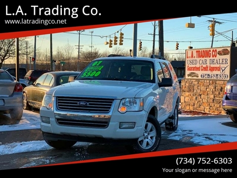 2008 Ford Explorer for sale at L.A. Trading Co. in Woodhaven MI