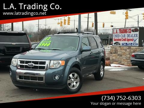 Ford Escape Hybrid For Sale >> Ford Escape Hybrid For Sale In Woodhaven Mi L A Trading Co