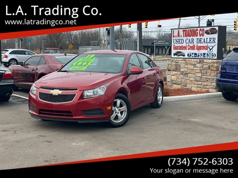 2013 Chevrolet Cruze for sale at L.A. Trading Co. in Woodhaven MI