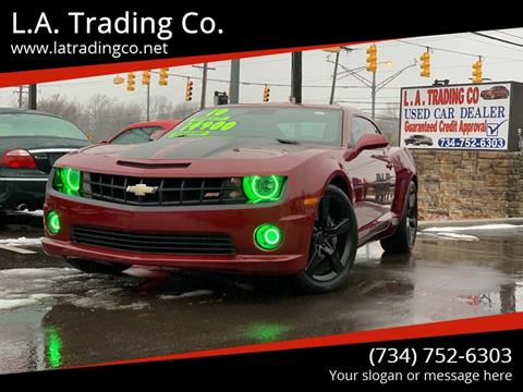 2010 Chevrolet Camaro for sale at L.A. Trading Co. in Woodhaven MI