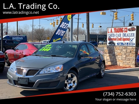2009 Pontiac G6 for sale at L.A. Trading Co. in Woodhaven MI