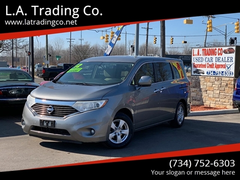 2012 Nissan Quest for sale at L.A. Trading Co. in Woodhaven MI