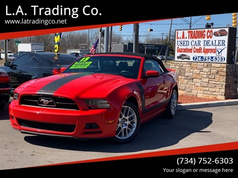 2013 Ford Mustang for sale at L.A. Trading Co. in Woodhaven MI