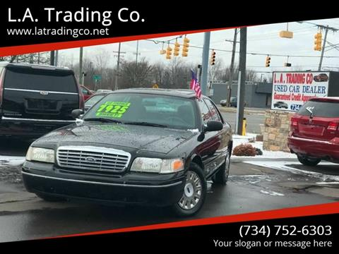 2004 Ford Crown Victoria for sale at L.A. Trading Co. in Woodhaven MI
