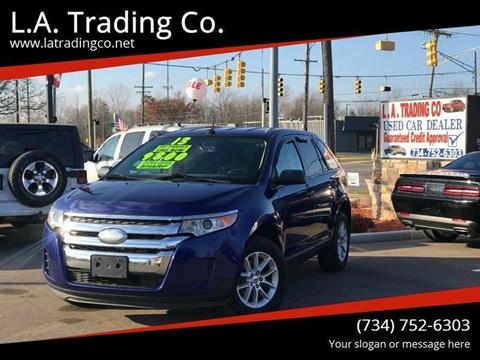2013 Ford Edge for sale at L.A. Trading Co. in Woodhaven MI