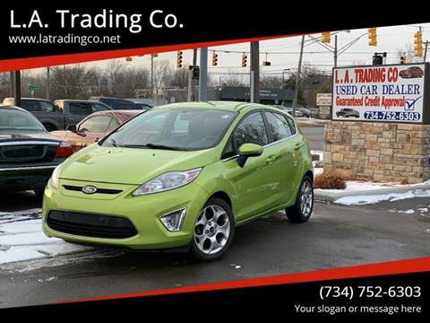 2011 Ford Fiesta for sale at L.A. Trading Co. in Woodhaven MI