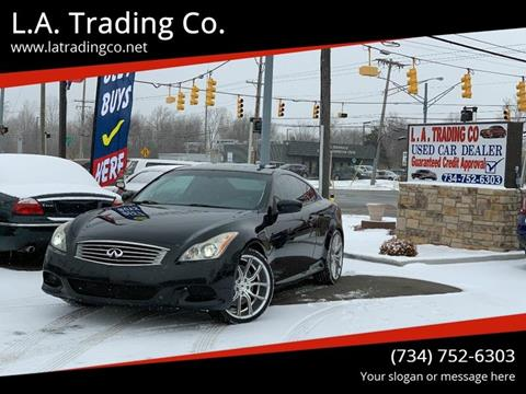 2008 Infiniti G37 for sale at L.A. Trading Co. in Woodhaven MI