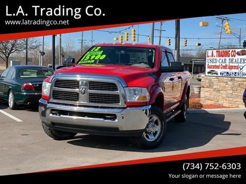 2012 RAM Ram Pickup 2500 for sale at L.A. Trading Co. in Woodhaven MI