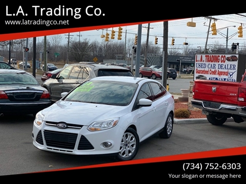 2012 Ford Focus for sale at L.A. Trading Co. in Woodhaven MI