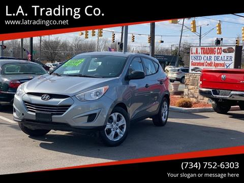 2010 Hyundai Tucson for sale at L.A. Trading Co. in Woodhaven MI
