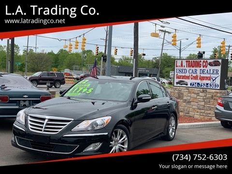 2012 Hyundai Genesis for sale at L.A. Trading Co. in Woodhaven MI
