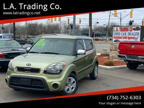 2012 Kia Soul for sale at L.A. Trading Co. in Woodhaven MI