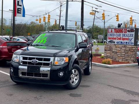 2010 Ford Escape Hybrid for sale at L.A. Trading Co. in Woodhaven MI