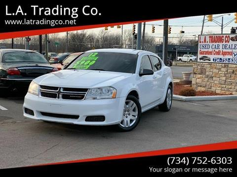 2012 Dodge Avenger for sale at L.A. Trading Co. in Woodhaven MI