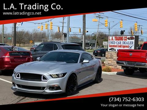 2015 Ford Mustang for sale at L.A. Trading Co. in Woodhaven MI