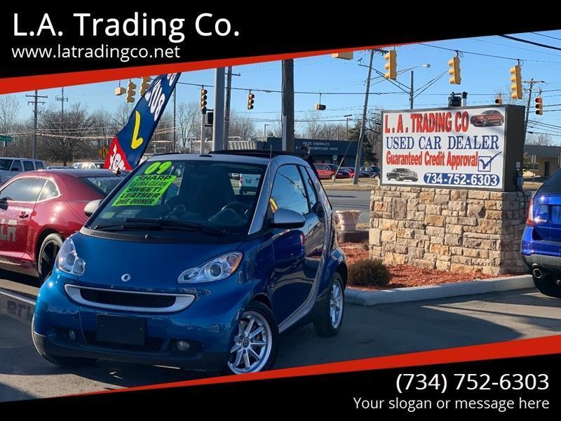 2009 Smart fortwo for sale at L.A. Trading Co. in Woodhaven MI