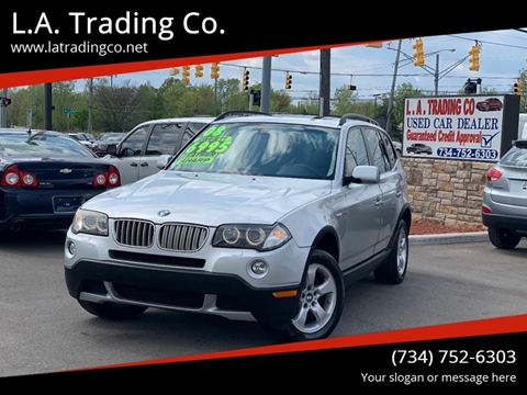 2008 BMW X3 for sale at L.A. Trading Co. in Woodhaven MI