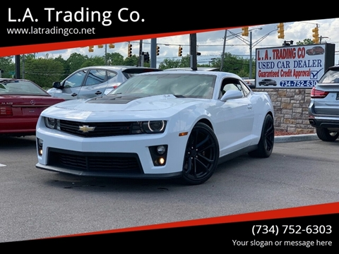 2012 Chevrolet Camaro for sale at L.A. Trading Co. in Woodhaven MI