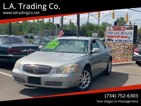 2007 Buick Lucerne for sale at L.A. Trading Co. in Woodhaven MI