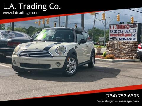 2008 MINI Cooper Clubman for sale at L.A. Trading Co. in Woodhaven MI