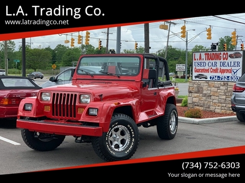 1992 Jeep Wrangler for sale in Woodhaven, MI