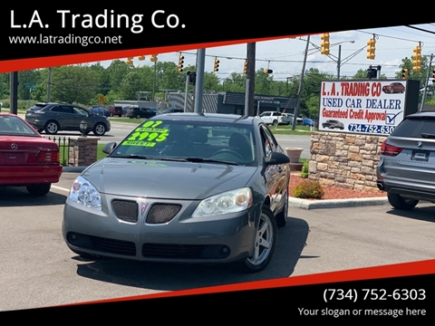 2007 Pontiac G6 for sale at L.A. Trading Co. in Woodhaven MI