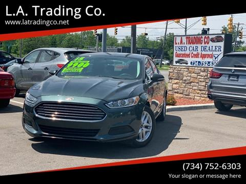 2015 Ford Fusion for sale at L.A. Trading Co. in Woodhaven MI
