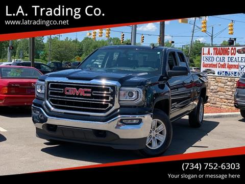 2018 GMC Sierra 1500 for sale at L.A. Trading Co. in Woodhaven MI