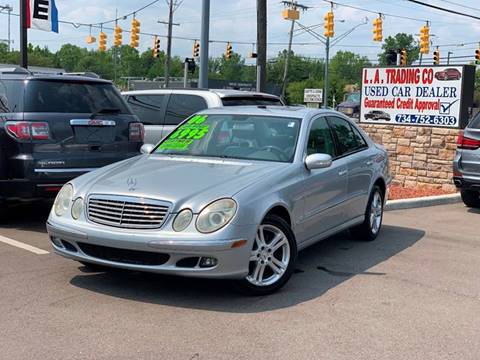 2006 Mercedes-Benz E-Class for sale at L.A. Trading Co. in Woodhaven MI