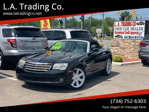 2005 Chrysler Crossfire for sale at L.A. Trading Co. in Woodhaven MI