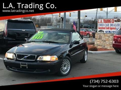 2004 Volvo C70 for sale at L.A. Trading Co. in Woodhaven MI