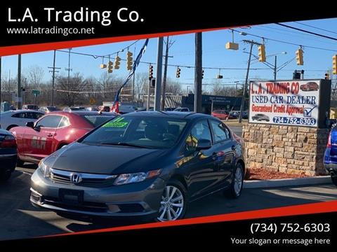 2012 Honda Civic for sale at L.A. Trading Co. in Woodhaven MI