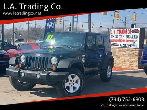 2007 Jeep Wrangler Unlimited for sale in Woodhaven, MI