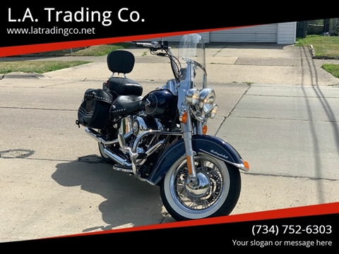 2013 Harley-Davidson Heritage Softail Classic for sale in Woodhaven, MI