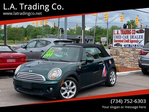 2010 MINI Cooper for sale at L.A. Trading Co. in Woodhaven MI