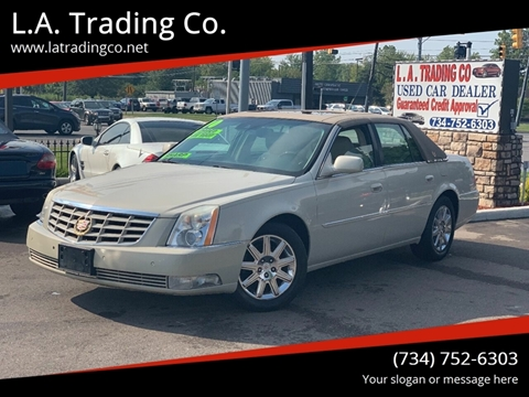 2010 Cadillac DTS for sale at L.A. Trading Co. in Woodhaven MI