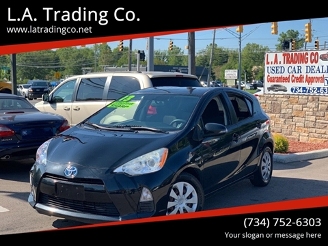 2013 Toyota Prius c for sale at L.A. Trading Co. in Woodhaven MI